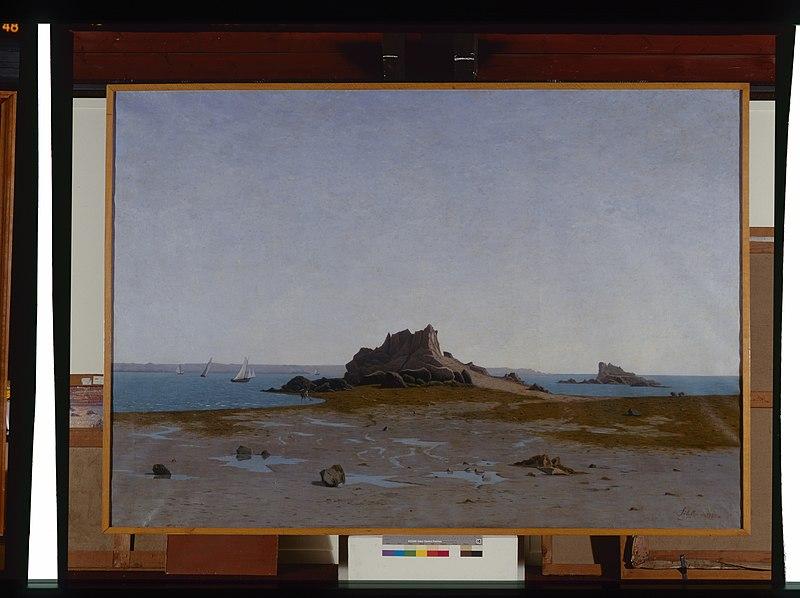 File:Embouchure du Trieux, Roch-Hir - Paul Sébillot - musée d'art et d'histoire de Saint-Brieuc, DOC 140.jpg
