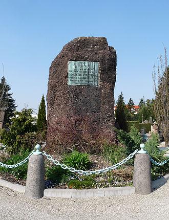 Émile Küss - Émile Küss monument