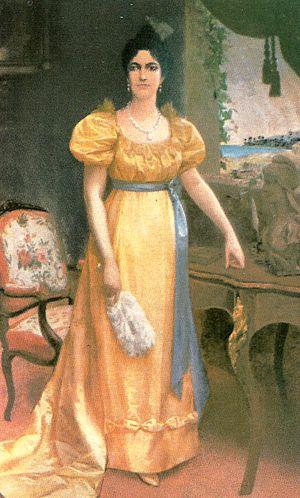 Emilio Jacinto Mauri - Luisa Cáceres de Arismendi (1899)