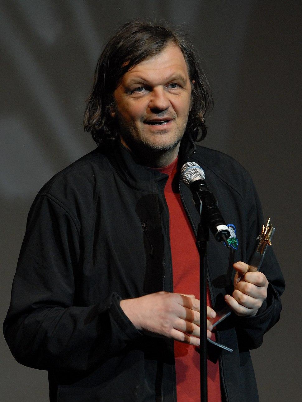 Emir Kusturica at Guadalajara film festival 2009