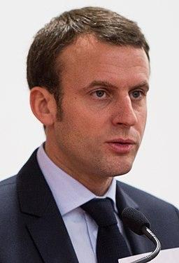 Emmanuel Macron crop