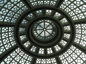 Albert Pissis - dome at the old Emporium department store in San Francisco