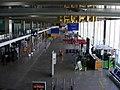 Empty departures, Paris Orly, ash cloud disruption.jpg