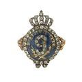 En av Gustav IIIs revolutionsringar till minnet av statsvälvningen 1772-08-21 - Livrustkammaren - 97881.tif