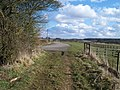 End of the track - geograph.org.uk - 1740057.jpg