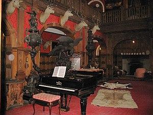 Kinloch Castle - Entrance hall