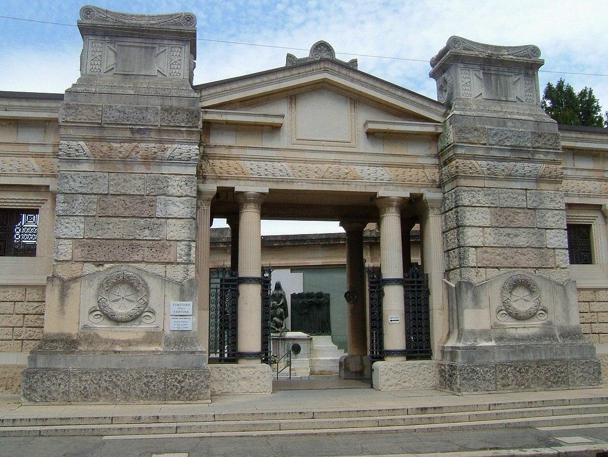 Cimitero monumentale della certosa di bologna wikipedia for Immagini di entrate di ville
