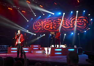 Erasure - Erasure performing live in Delamere Forest in  July 2011