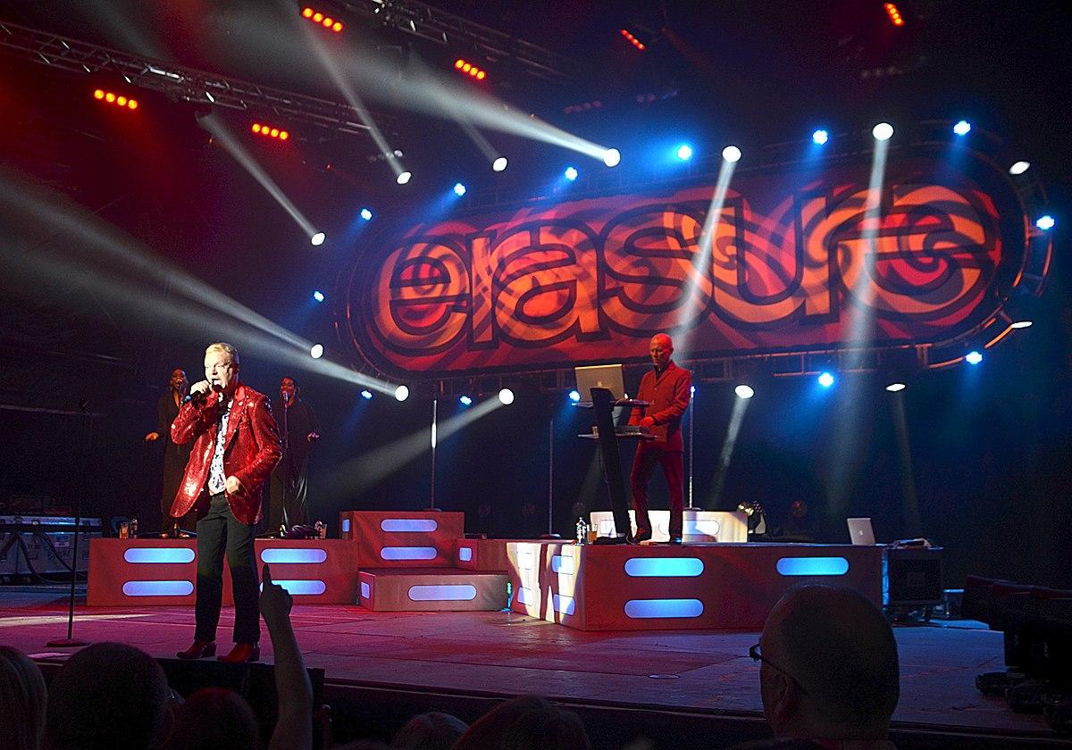 Концерт erasure в москве
