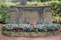 Erfurt Neuer Jüdischer Friedhof Gedenkstein für Shoa-Opfer.PNG