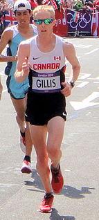 Eric Gillis Canadian athlete