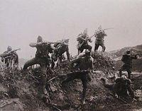 Έφοδος τμήματος του Ελληνικού Στρατού κοντά στον ποταμό Ερμό.