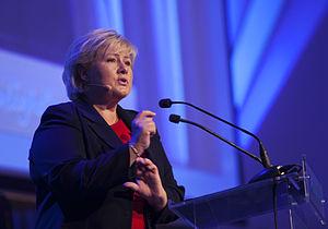 Erna Solberg på Kommunalkonferansen 2012