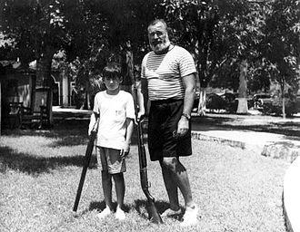 Gregory Hemingway - Image: Ernest and Gregory Hemingway in Cuba c 1950