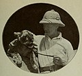 Ernst M. Heims and Simba, the lioness.jpg