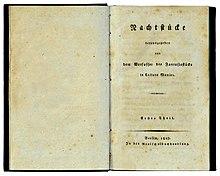 Erstausgabe (Quelle: Wikimedia)