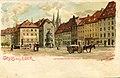 Erwin Spindler Ansichtskarte Eger-Markt.jpg