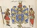 Escudo da Galiza nas Notes généalogiques sur la maison d'Autriche de Jean de Vandenesse (séc. XVI).jpg