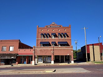 National Register of Historic Places listings in Garvin County, Oklahoma - Image: Eskridge Hotel