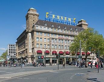Essen shopping city Hotel Handelshof 2014.jpg