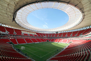 Football at the 2016 Summer Olympics - Image: Estádio Nacional Brasília