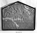 Estruscan sarcophagus fragments, circa 3-2 B.C. Wellcome L0013863.jpg