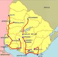 Etapas de la Vuelta del Uruguay 2008.png