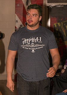 Ethan Page Canadian professional wrestler