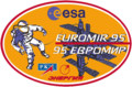 Euromir 95 mission patch.png