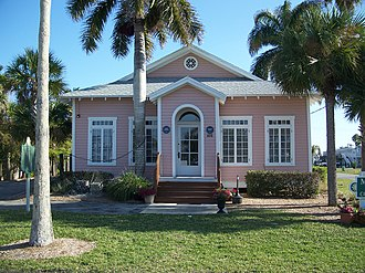 National Register of Historic Places listings in Collier County, Florida - Image: Everglades City FL Laundry 01