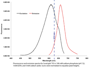 Phycobilisome - Image: Excitation and Emission of Phycobilisome