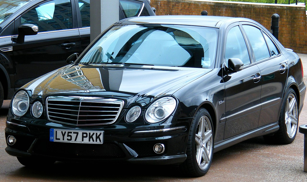 File exemplary tuned mercedes benz e class 4 door in for Is a mercedes benz a good car