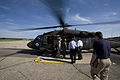 FEMA - 37035 - FEMA and officials boarding a helicopter in Wisconsin.jpg