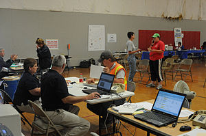 Weir, MS, May 8, 2010 -- The Choctaw FEMA/Stat...