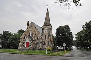 First Presbyterian Church of Mumford - Image: FIRST PRESBYTERIAN CHURCH OF MUMFORD, MONROE COUNTY, NY