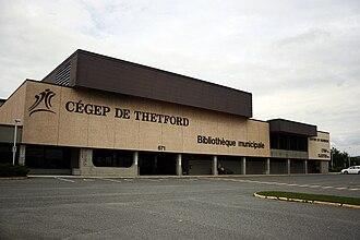 Cégep de Thetford - Front of Cegep de Thetford