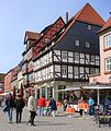 Fachwerkhäuser in Altstadt Qudlinburg. IMG 3819WI.jpg