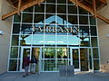 Fairbanks new railway station entrance 2011.jpg