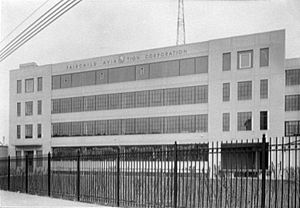 Fairchild Aircraft - The Jamaica, New York Fairchild plant in 1941.
