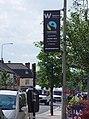 Fairtrade City Lamppost Banner - geograph.org.uk - 840817.jpg