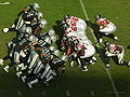 Falcons prepare to punt at Falcons at Raiders 11-2-08.JPG