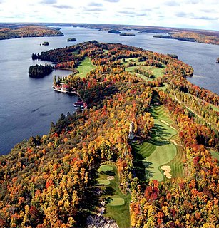 Bigwin Island island in Canada
