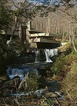 Fallingwater, Mill Run, Pennsylvania (1936.-39.)