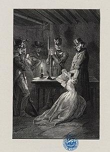 Fantine At Javerts Feet