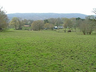 Blaich - Image: Farmland at Blaich geograph.org.uk 410118