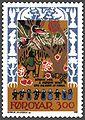 Faroe stamp 124 skrimsla - the farmer in the wood.jpg