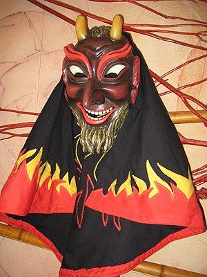 Swabian-Alemannic Fastnacht - Fastnacht mask in Swabia