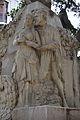 Faust i Margarida al monument de Teodor Llorente.JPG