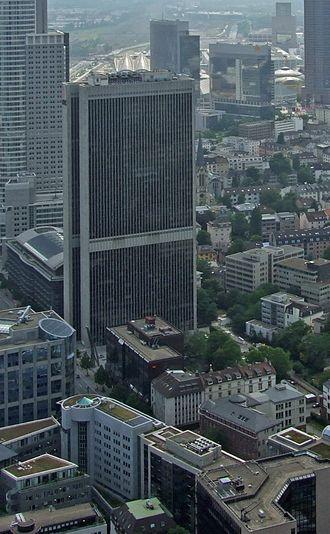 Philipp Holzmann - The Frankfurter Büro Center which was built by Philipp Holzmann