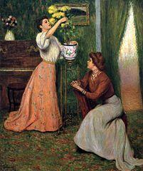 In the Salon'